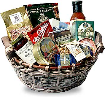 Photo: One of our beautiful Kingston gift baskets!